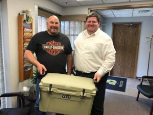 YETI Cooler Giveaway Winner